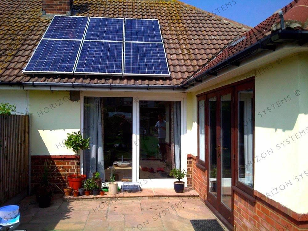 Finished Solar Panels